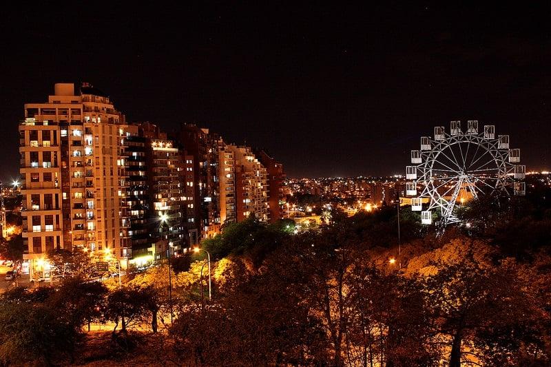 Noite em Córdoba na Argentina