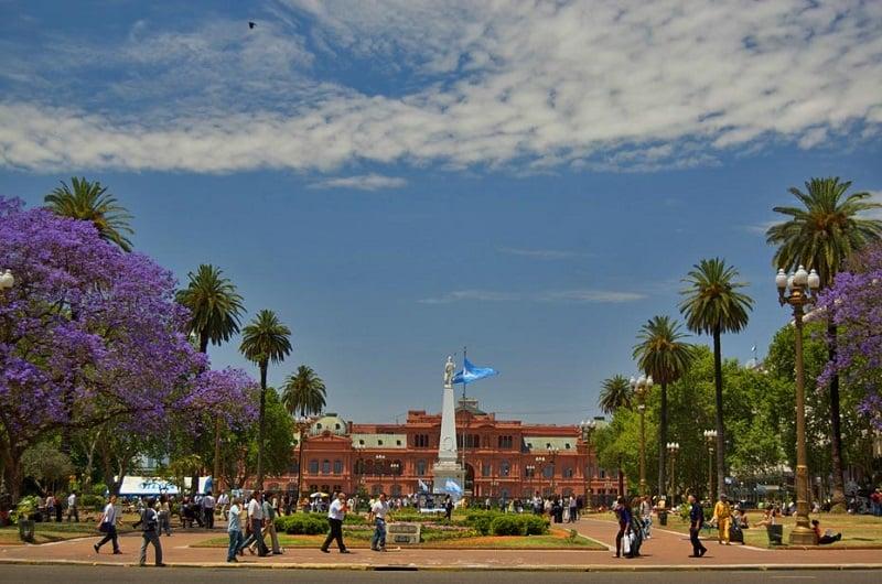 Buenos Aires no mês de outubro