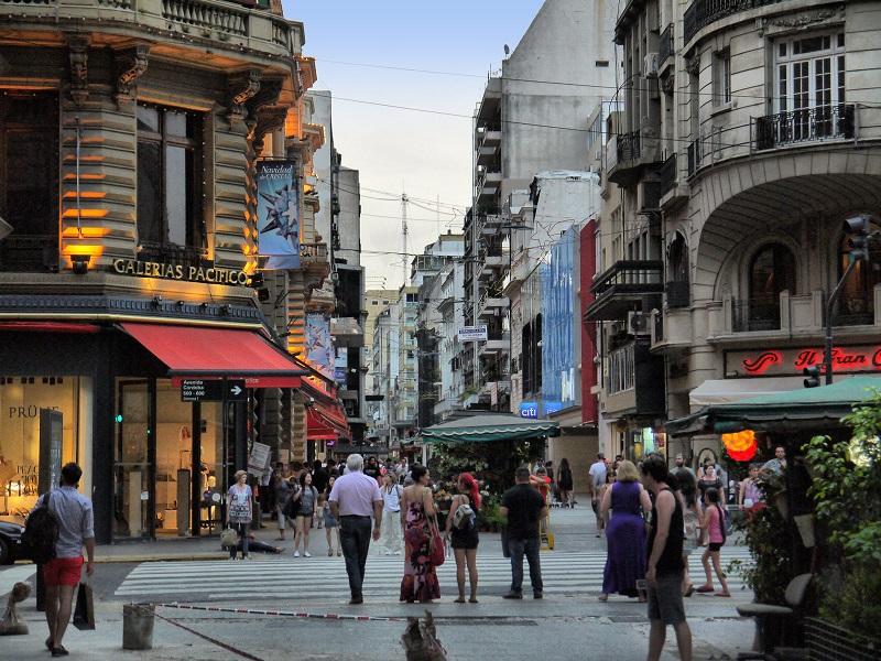Calle Florida em Buenos Aires - Compras