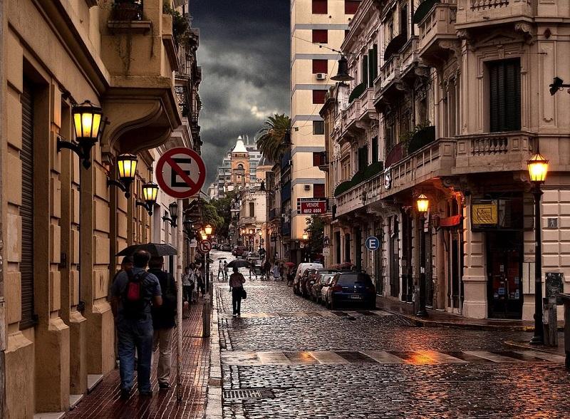 Chuva em Buenos Aires na Argentina