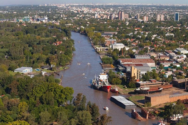 Cidade Tigre na Argentina