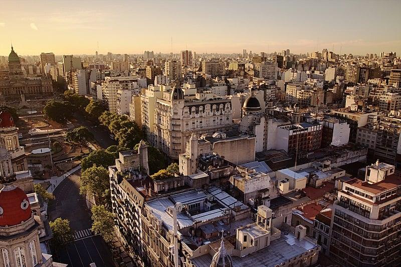 Clima agradável em Buenos Aires