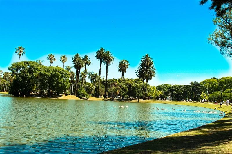 Parque para curtir o verão em Buenos Aires
