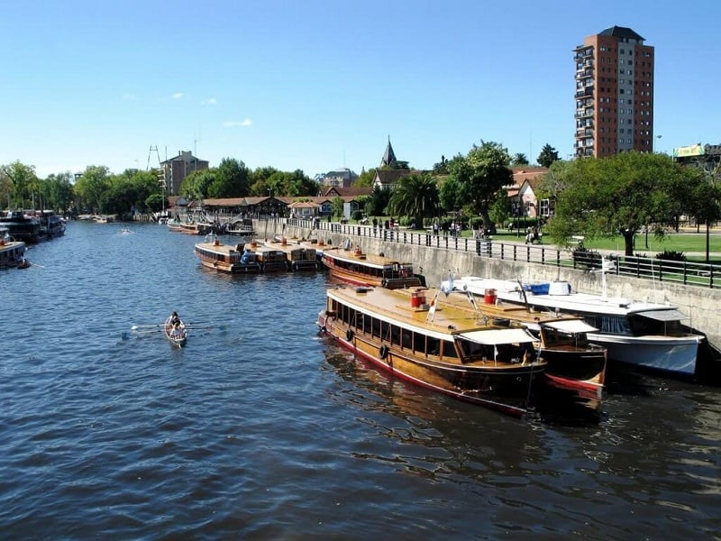 Passeio de barco pelo Rio Tigre no mês de dezembro