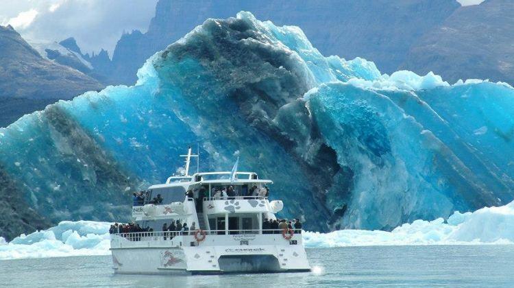 O ver na excursão para a Geleira Perito Moreno