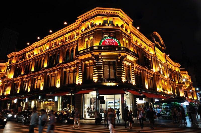 Compras em Buenos Aires no mês de março