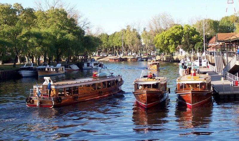 Passeio de barco pelo Rio Tigre em Buenos Aires