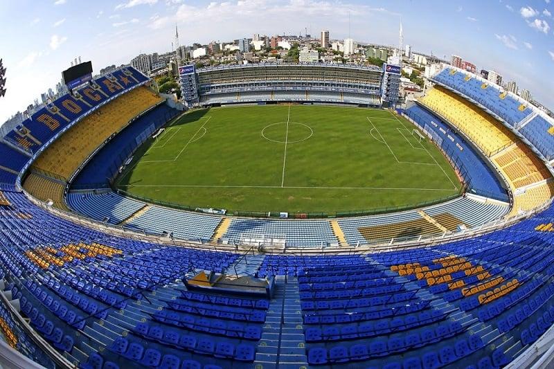 Fazer o tour no Estádio La Bombonera em Buenos Aires