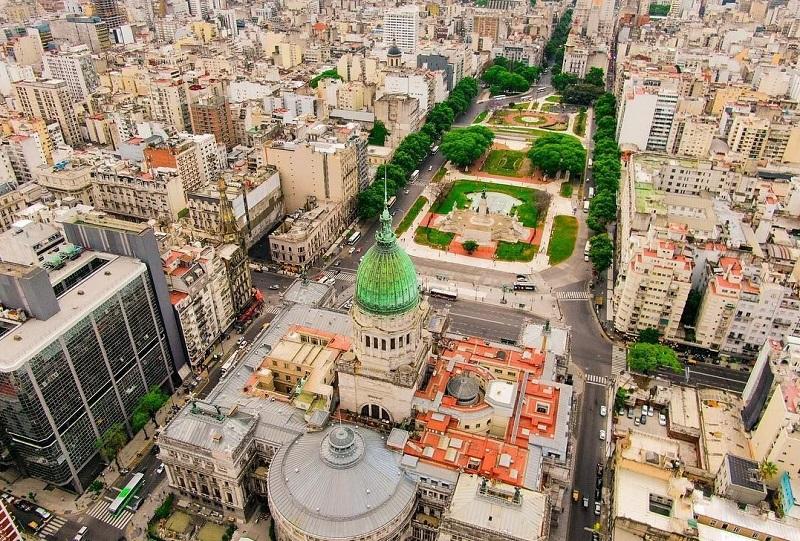 Buenos Aires vista de cima
