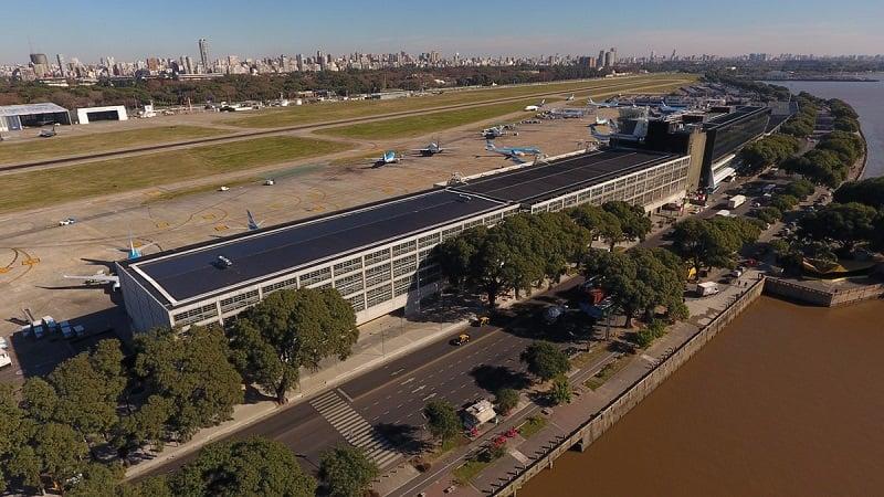 Aeroporto Jorge Newbery em Buenos Aires
