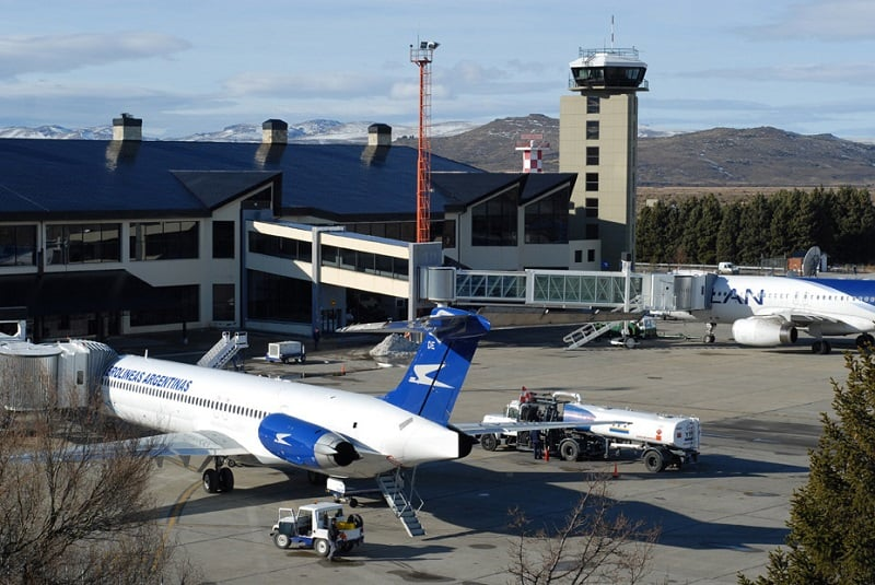 Sobre o aeroporto de Bariloche