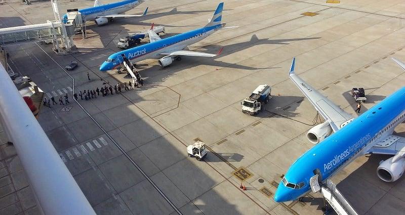 Aeroporto em Mendoza