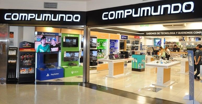 Loja Compumundo em Buenos Aires