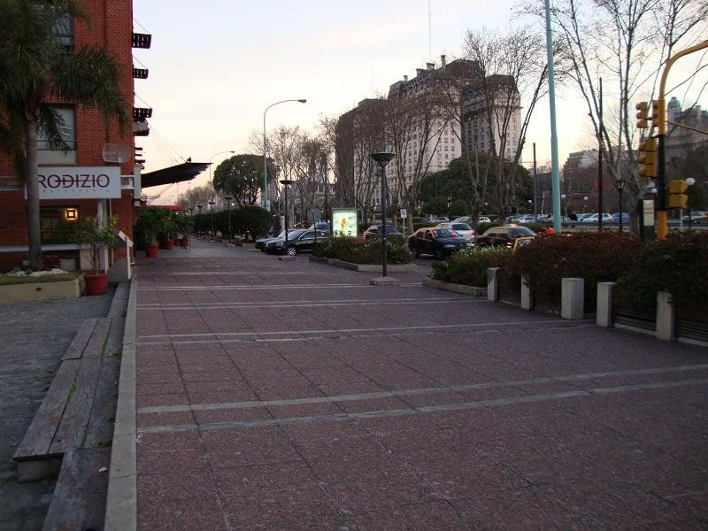 Ruas para deficientes físicos em Buenos Aires
