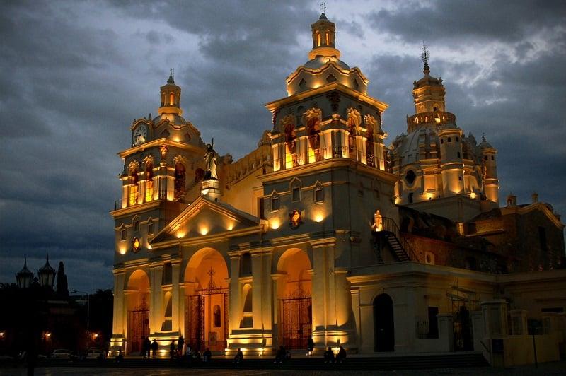 Catedral de Córdoba no inverno