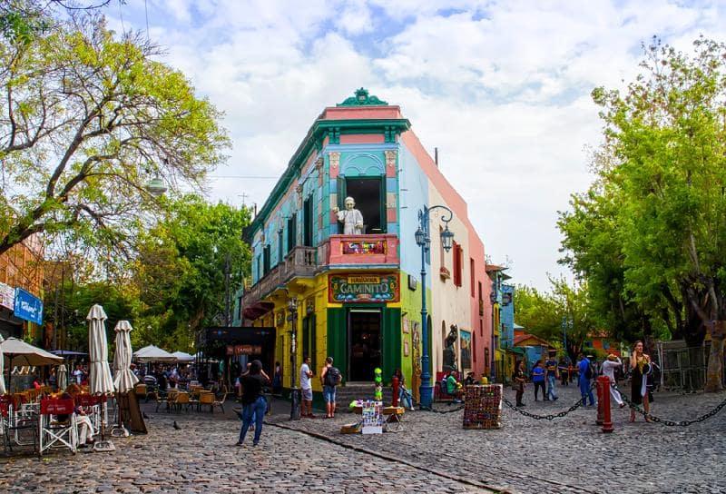 Caminito em Buenos Aires