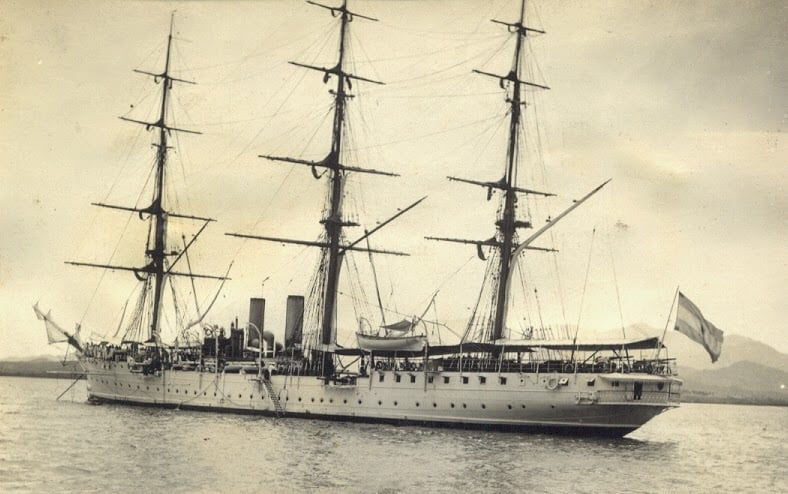 Barco Museu Fragata Sarmiento em Buenos Aires