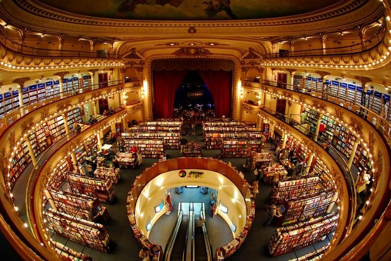 Passeios gratuitos em Buenos Aires: Livraria El Ateneo Grand Splendid