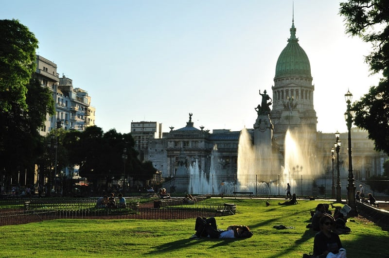 Passeios gratuitos em Buenos Aires: Praça do Congresso