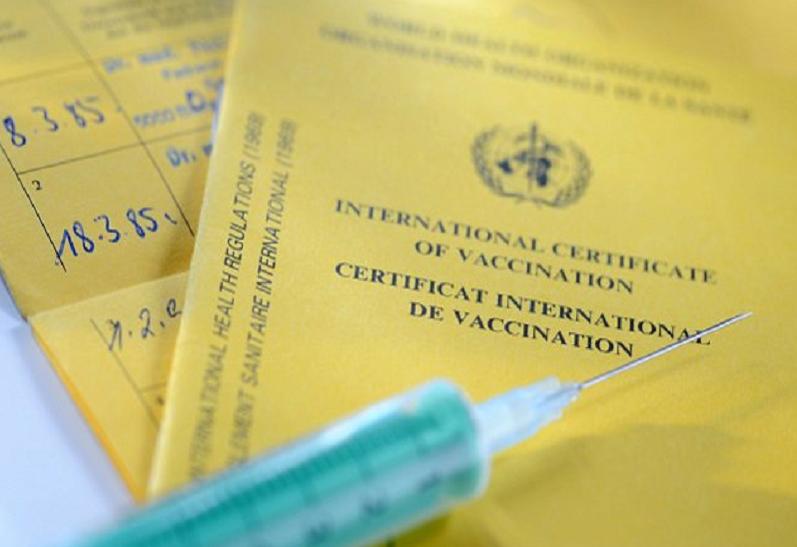 Vacinas e certificado de vacinação - Argentina