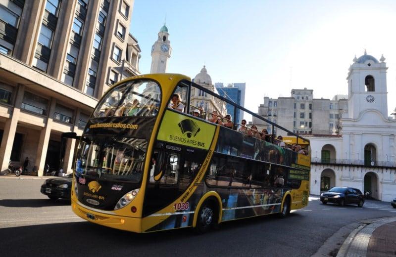 Passeio de ônibus turístico em Buenos Aires