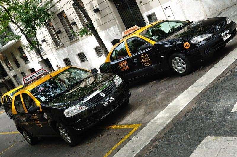Táxi em Buenos Aires - Argentina