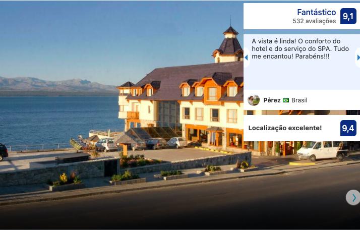 Hotel Cacique Inacayal em Bariloche