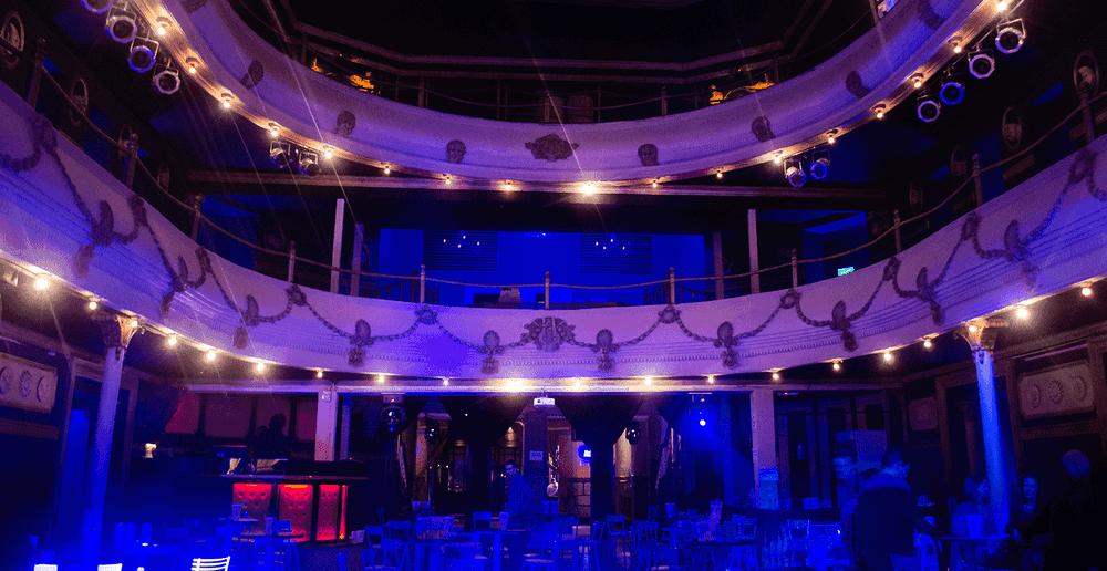 Balada Studio Theatre em Córdoba, Argentina