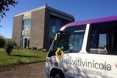 Bus Vitivinícola em Mendoza