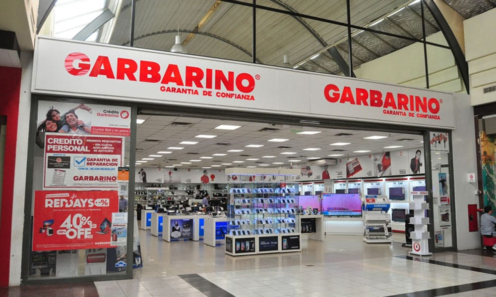 Loja Garbarino em Córdoba na Argentina