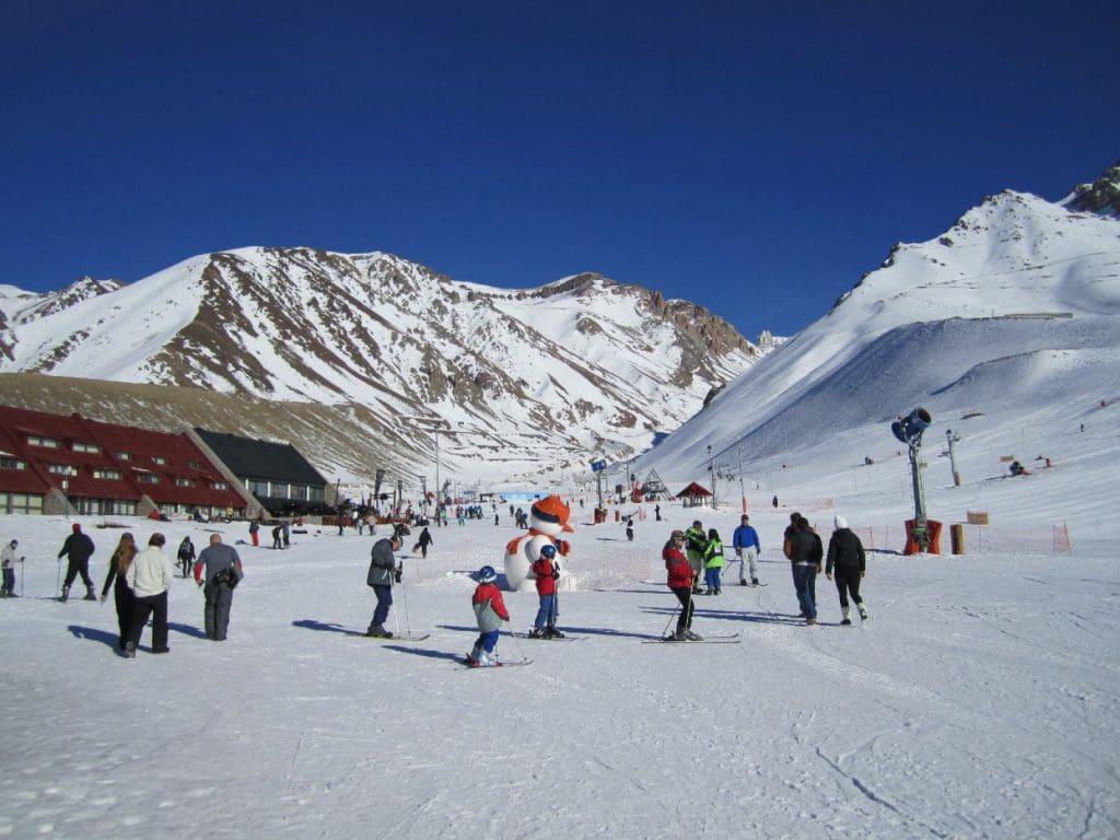 Estação de esqui los Penitentes em Mendoza