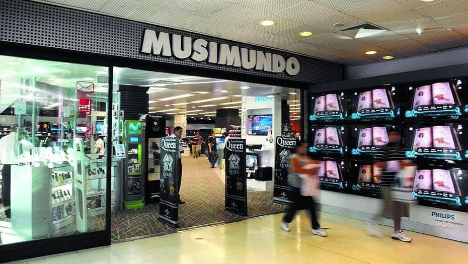 Loja Musimundo em Córdoba na Argentina