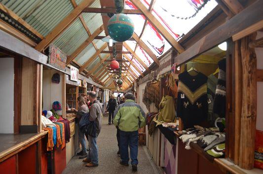 Feira Paseo de Los Artesanatos em Ushuaia