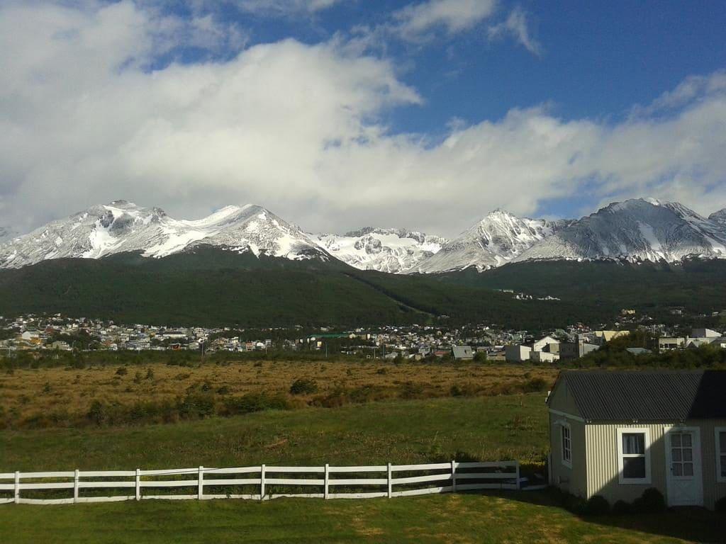 Vista do Hotel B&B Cerro Krund em Ushuaia