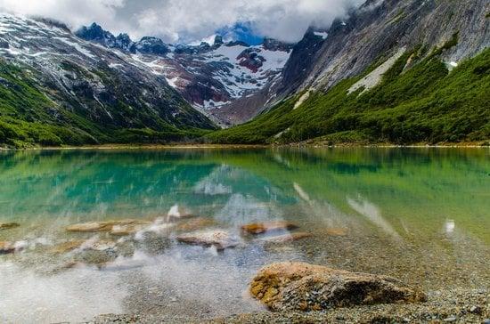 Lago Esmeralda em Ushuaia