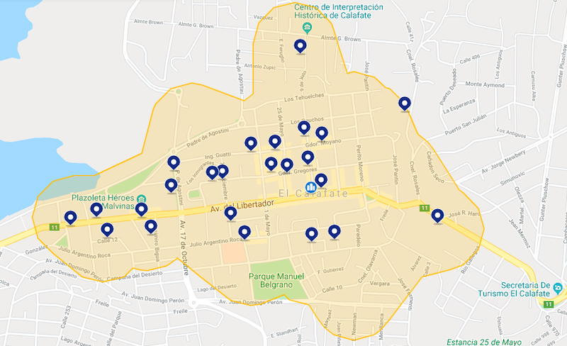 Onde ficar em El Calafate: melhores hotéis