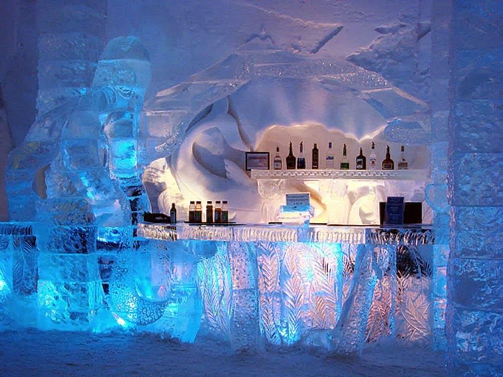 Bar do Glaciarium em El Calafate