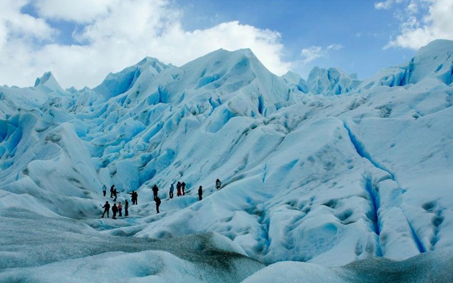 Minitrekking no Glaciar Perito Moreno em El Calafate