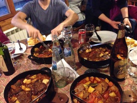 Restaurante Isabel Cocina al Disco em El Calafate