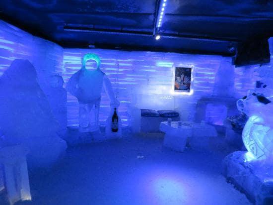 Bar do Glaciarium em El Calafate, Argentina
