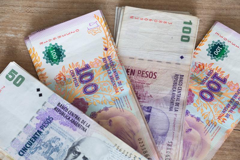 Pesos argentinos - em nota