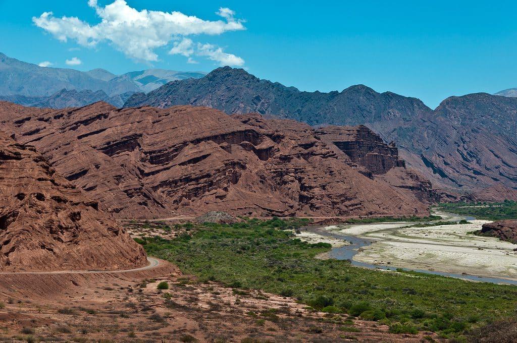 Reserva Natural Quebrada das Conchas em Salta, Argentina