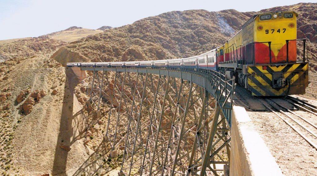 Tren a las Nubes em Salta, Argentina