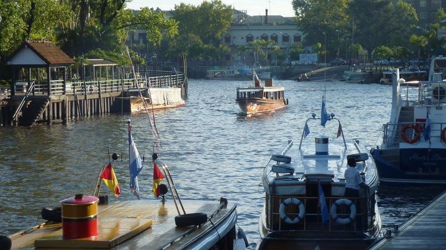 Passeio de barco no Delta do Tigre em Buenos Aires