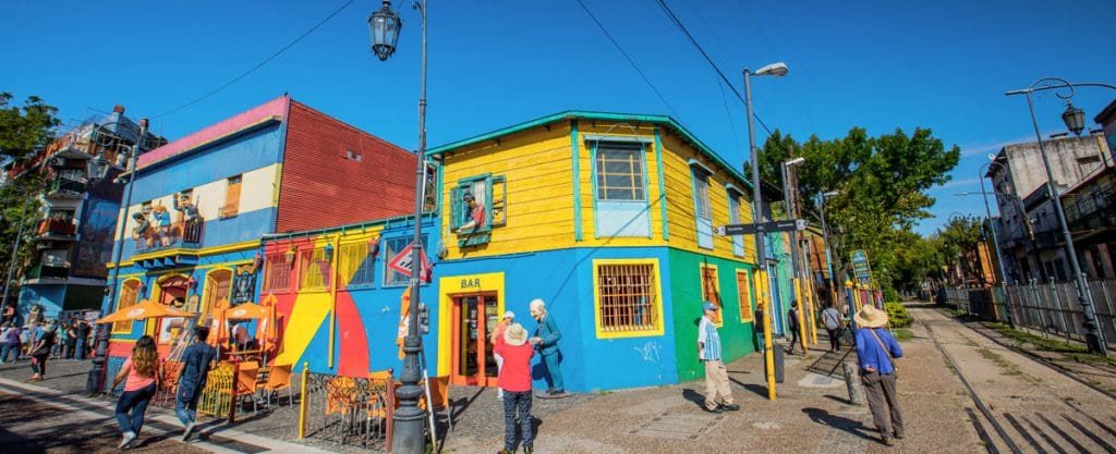 La Boca: Caminito e o estádio de La Bombonera - Buenos Aires