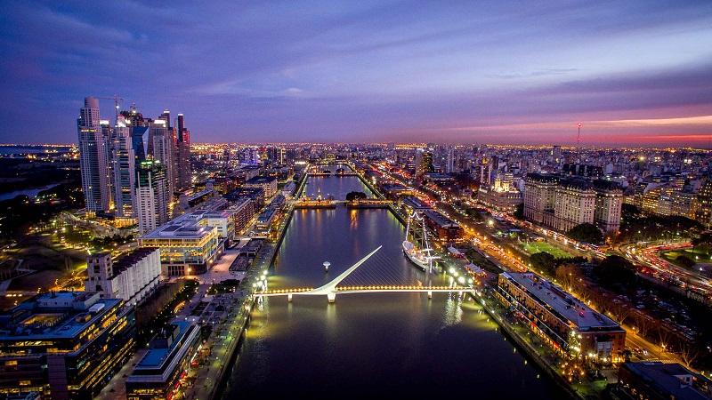 Buenos Aires no período da noite
