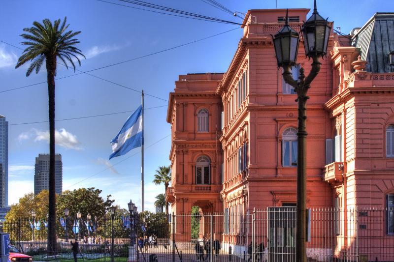 Casa Rosada na Argentina
