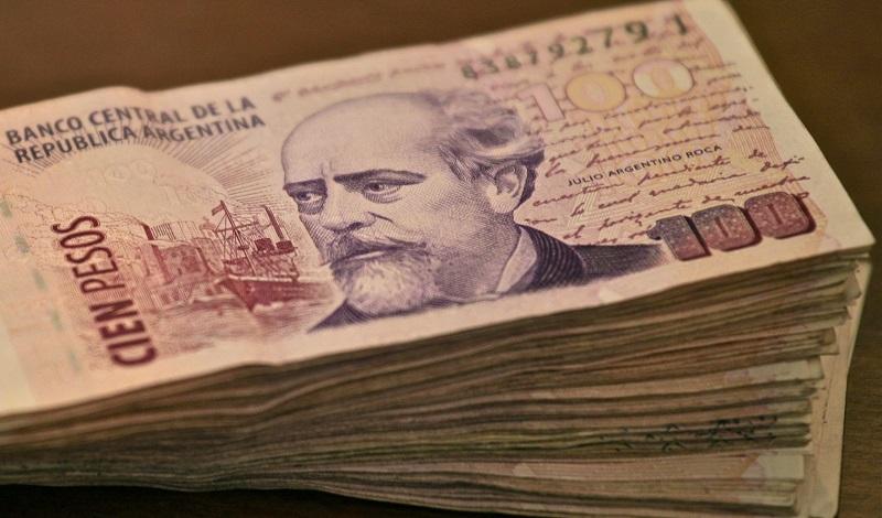 Pesos argentinos - Dinheiro vivo