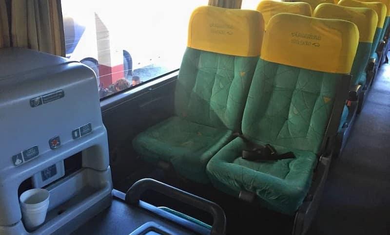Ônibus do aeroporto de Bariloche
