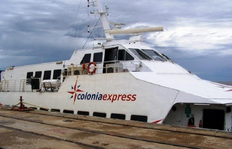 Viagens de ferries saindo da Argentina